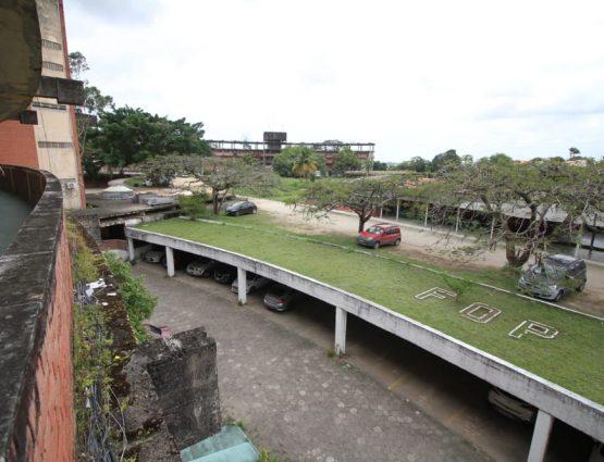 Faculdade de Odontologia de Pernambuco está situada em Camaragibe, no Grande Recife, há 43 anos — Foto: Marlon Costa/Pernambuco Press