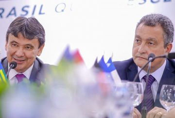 Governadores do Piauí, Wellington Dias e da Bahia, Rui Costa