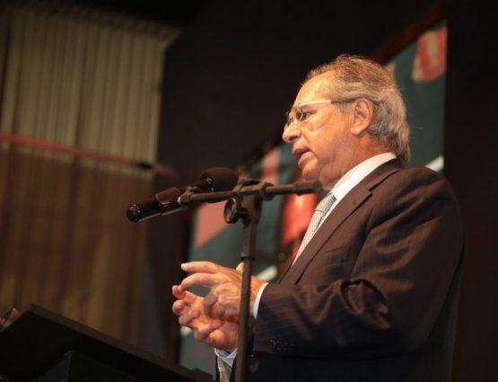 Guedes falou no seminário 'A Nova Economia do Brasil – o impacto para a região Nordeste', realizado pelo Poder360 em parceria com o Sistema Jangadeiro