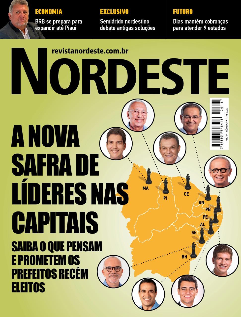 A mais nova edição da Revista Nordeste